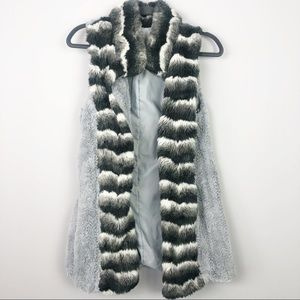 Cirana | Long Faux Fur Vest
